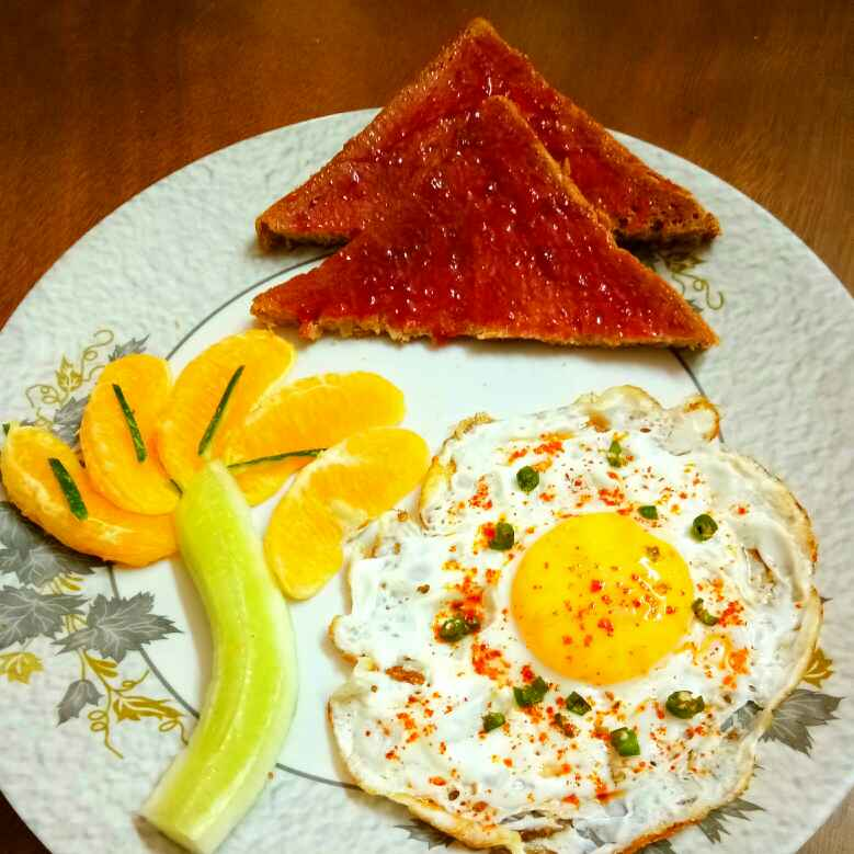 Photo of Egg Poach With Bread toast Jam by Arpita Majumder at BetterButter