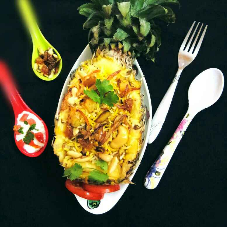 Photo of Pineapple Pulao by Arpita Majumder at BetterButter