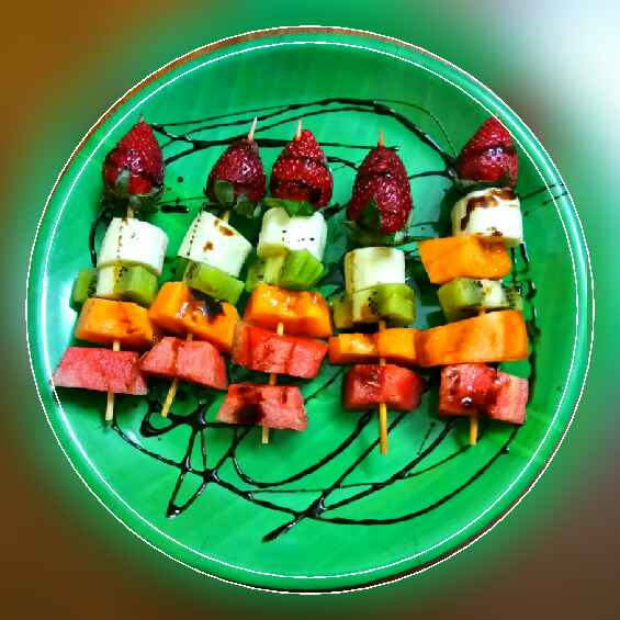 Photo of Chocolate Fruit Kabobs by Arpita Majumder at BetterButter
