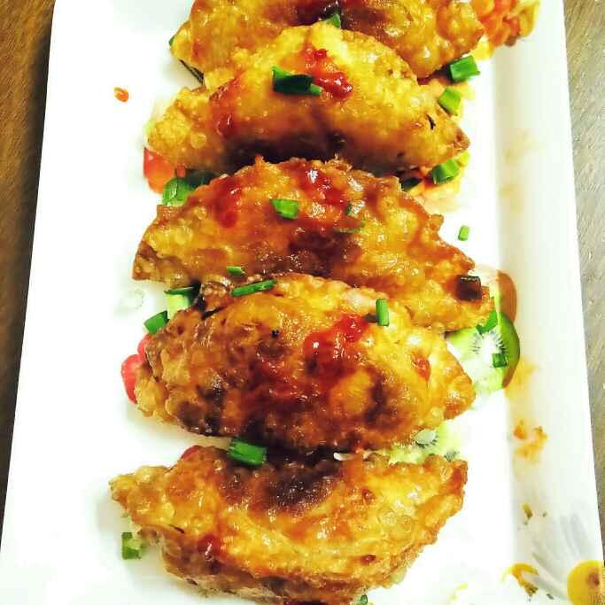 How to make Veg Fried Dumplings