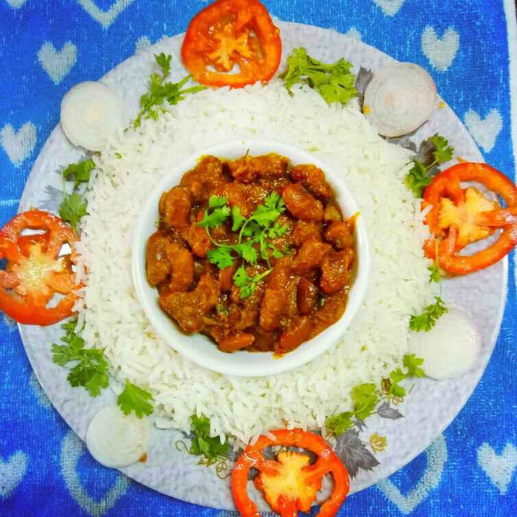 How to make রাজমা চাউল