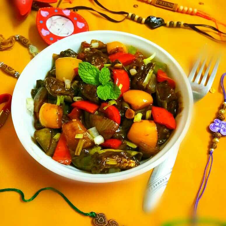 Photo of Chilli Eggplant by Arpita Majumder at BetterButter