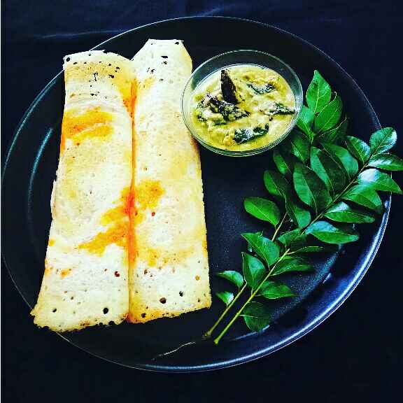 How to make Dosa with Coconut Chutney