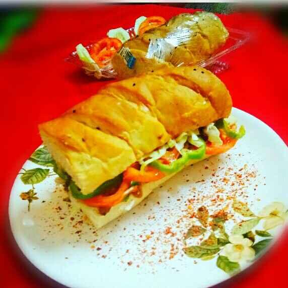 Photo of Chicken Sub Sandwich by Arpita Majumder at BetterButter