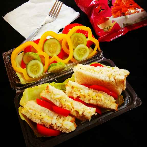 Photo of Egg Sandwich by Arpita Majumder at BetterButter