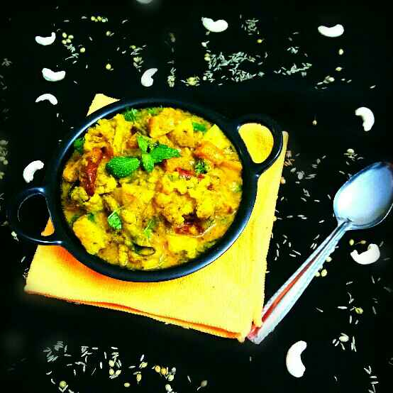 Photo of South Indian Vegetable Kurma by Arpita Majumder at BetterButter