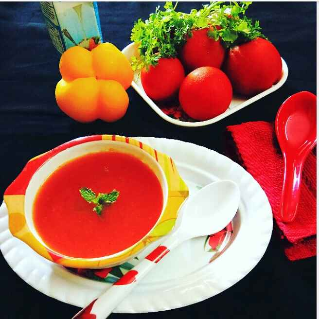 Photo of Tomato Soup by Arpita Majumder at BetterButter