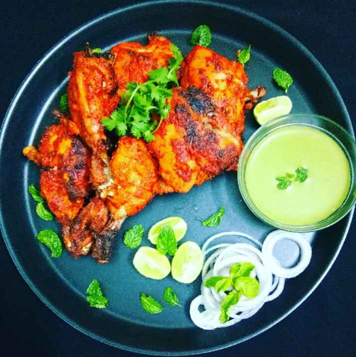 Photo of Tandoori chicken by Arpita Majumder at BetterButter