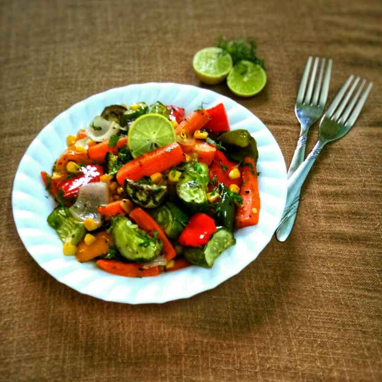 Photo of Roasted Vegetable Salad by Arpita Majumder at BetterButter