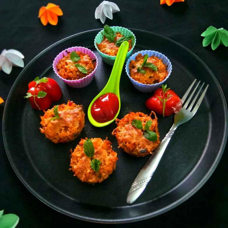 Photo of Schezwan Fried Rice Muffin by Arpita Majumder at BetterButter