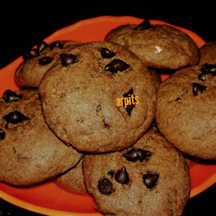 Photo of Chocolate cookies by Arpita Mukherjee at BetterButter
