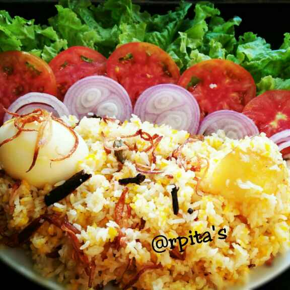 Photo of EGG-Potato Biriyani by Arpita Pal at BetterButter
