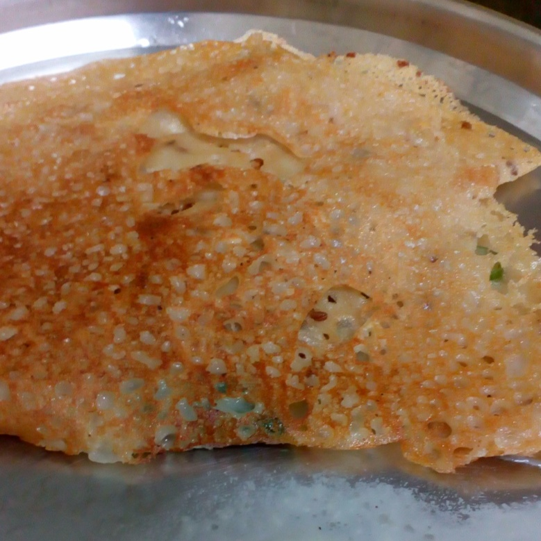 How to make Quick Wheat Dosa