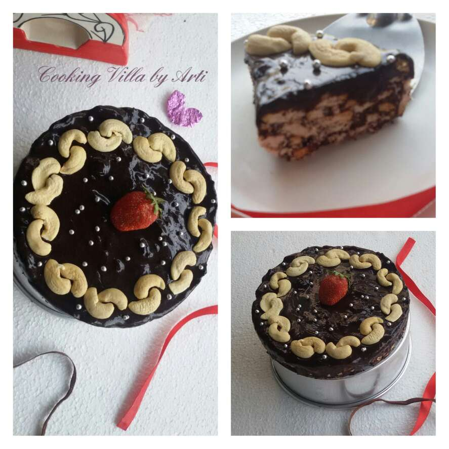 Photo of Chocolate Biscuit Cake by Arti Gupta at BetterButter