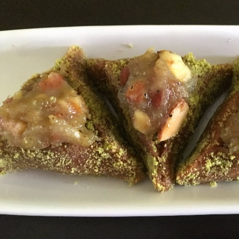 How to make Date and Almond Hamantaschen stuffed with Banana Halwa