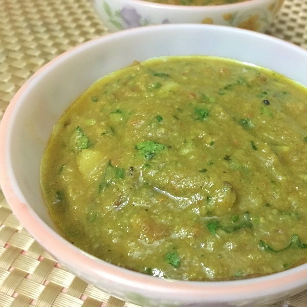 How to make Aloo in Matar Gravy