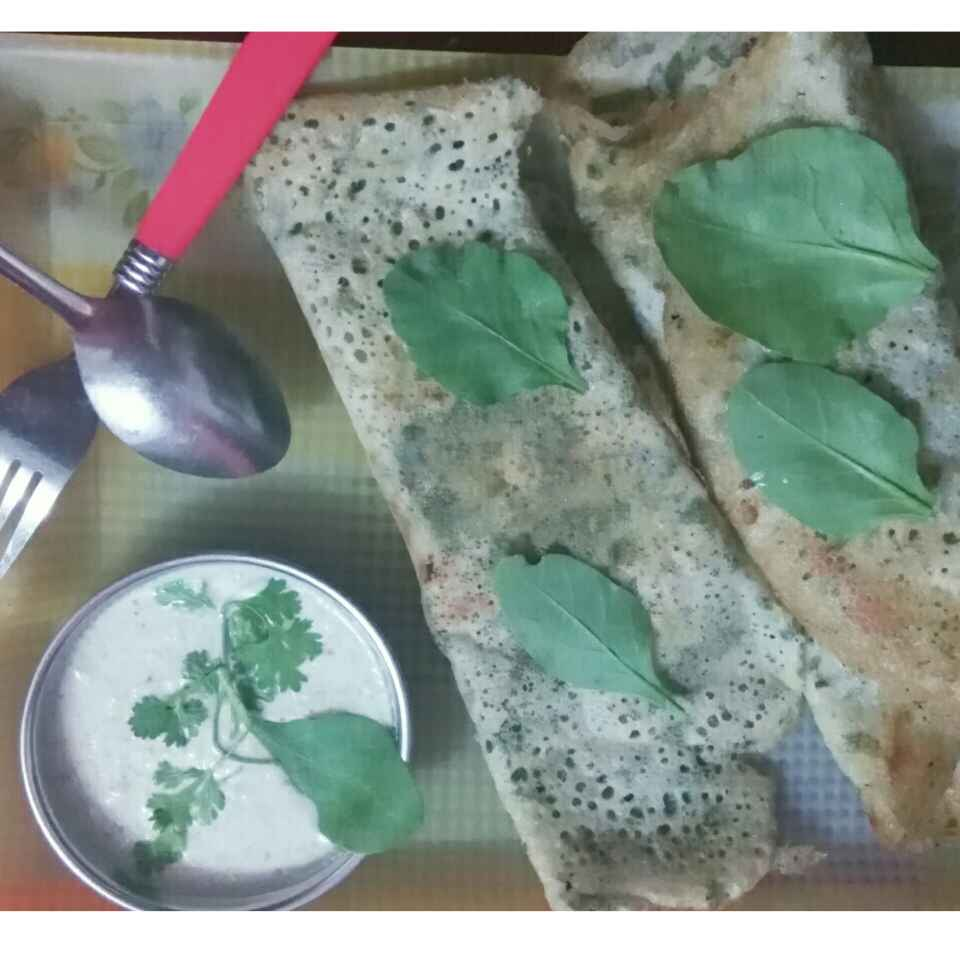 Photo of Palak dosa by Aruna Vyas at BetterButter