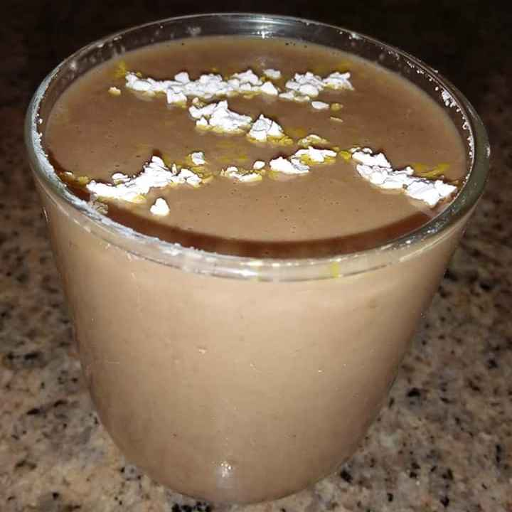 Photo of Oats-choco-apple smoothie by Arundhati Paul at BetterButter