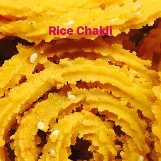 How to make Rice Chakli