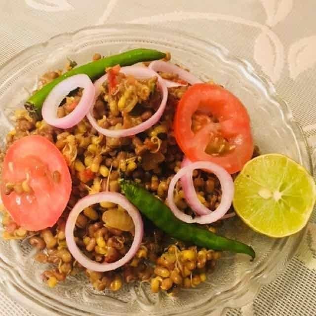Photo of Tadka sprouts by Asha Raheja at BetterButter