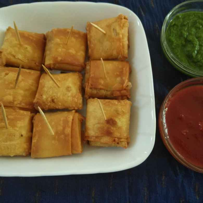 Photo of PANEER POTATO PARCEL by Asha Shah at BetterButter