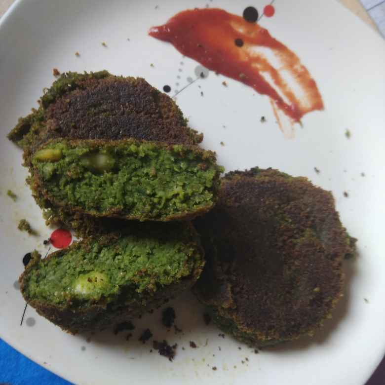 Photo of Chole Palak Tikki by Asha Shah at BetterButter