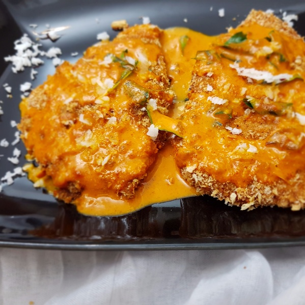 How to make Breaded Fish Fillet in Coconut sauce