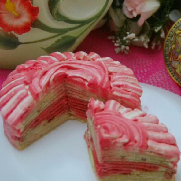 How to make No bake crepe cake