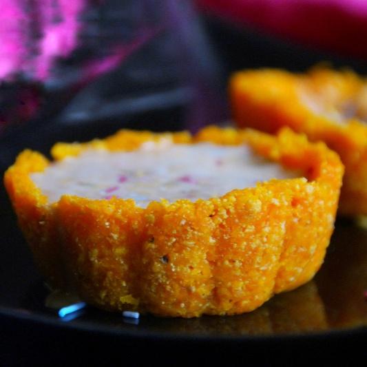 How to make Carrot Halwa Cups with Rabri