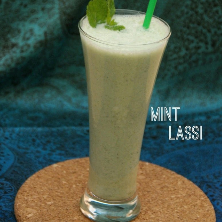 How to make Mint lassi