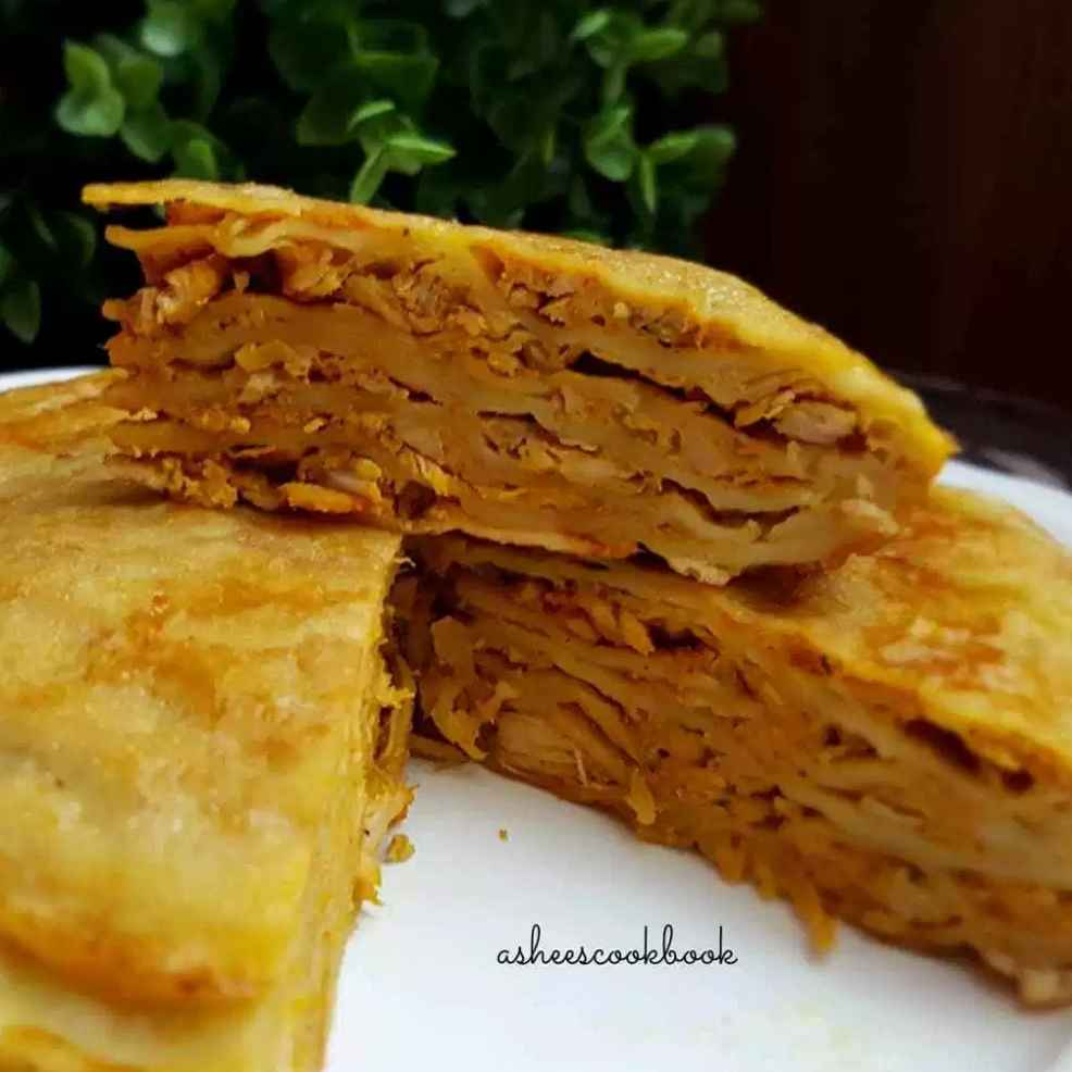 How to make Chatti pathiri