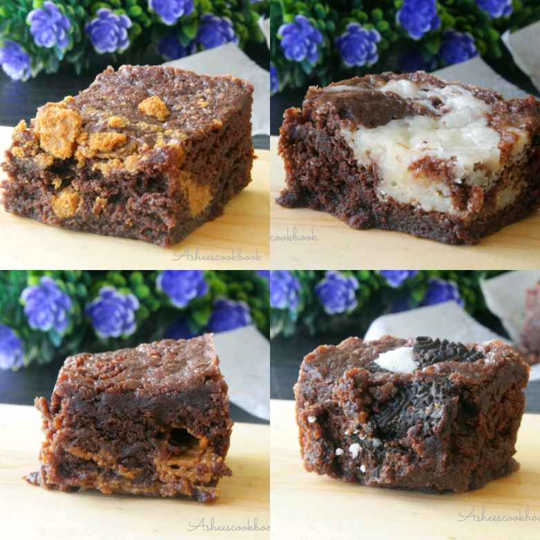 How to make 4 in 1 Microwave Brownies