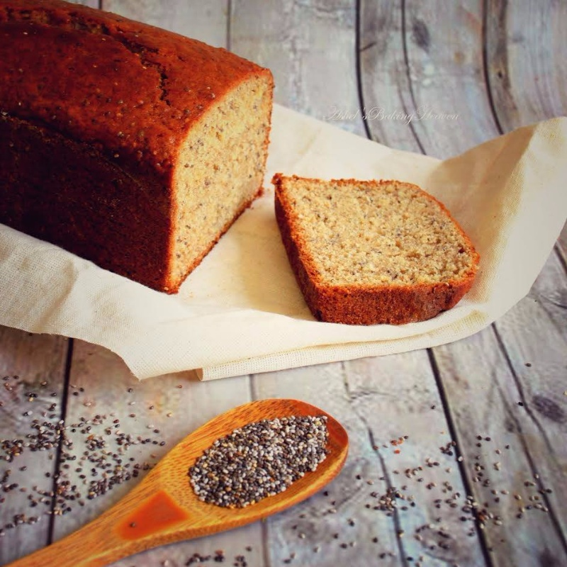How to make CHIA SEED BANANA BREAD