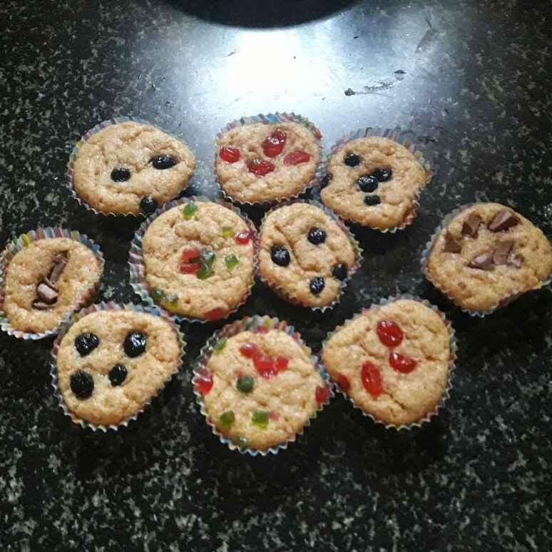 How to make Whole wheat yoghurt muffins