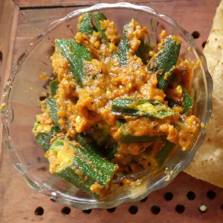 How to make Bhindi Masala Gravy with No onion and no Garlic