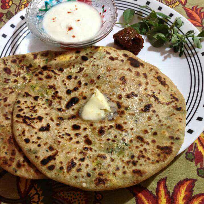 How to make Paneer methi paratha