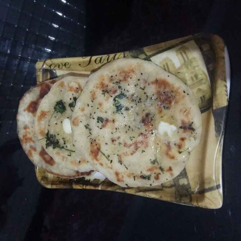 How to make Tawa Butter naan