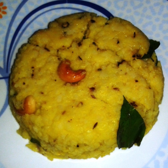 How to make Flattened Rice Pongal