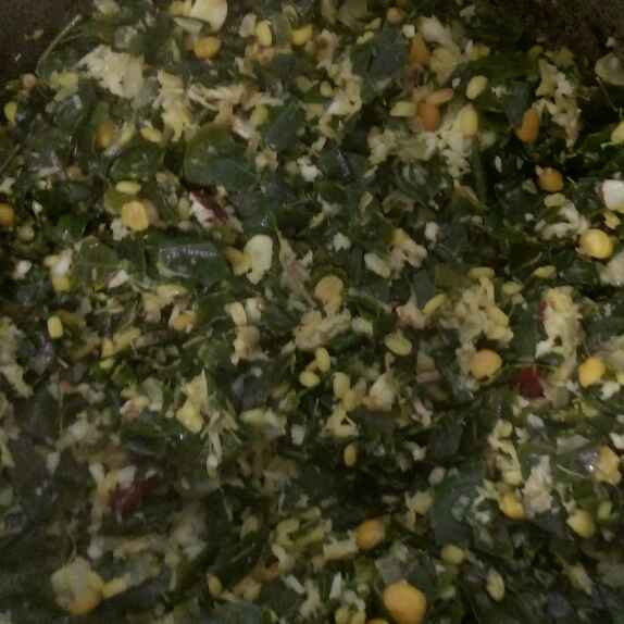 Photo of Moong Moringa Leaves Stir Fry by Asiya Omar at BetterButter
