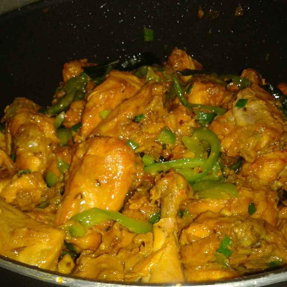 How to make Chicken kadai