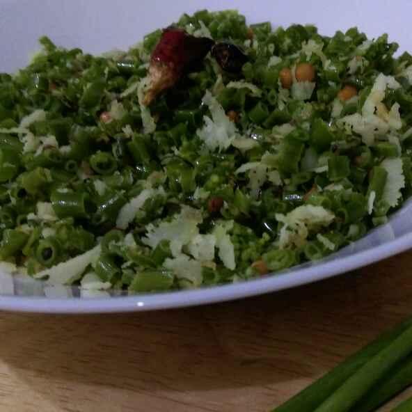 Photo of Spring onion stir fry by Asiya Omar at BetterButter