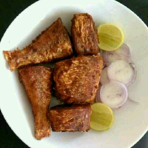 How to make Meen varuval/ fish fry