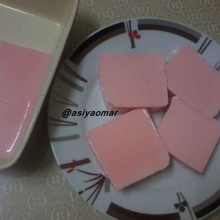 How to make Rose milk pudding