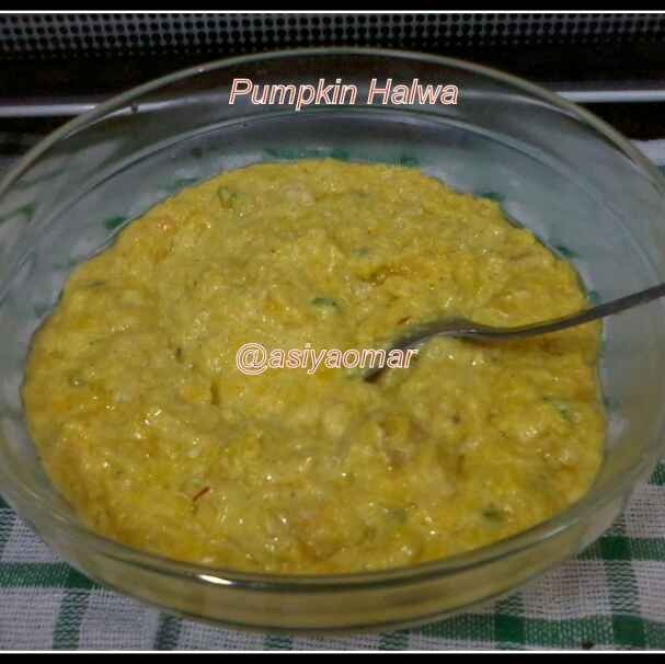 How to make Pumpkin halwa