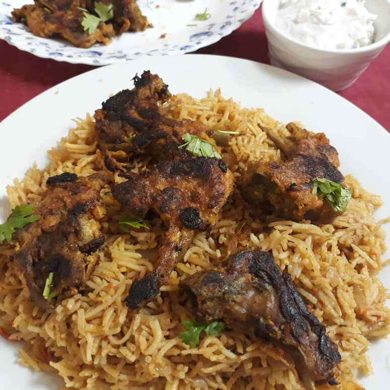 Photo of Mutton chops kabsa rice by Asiya Omar at BetterButter