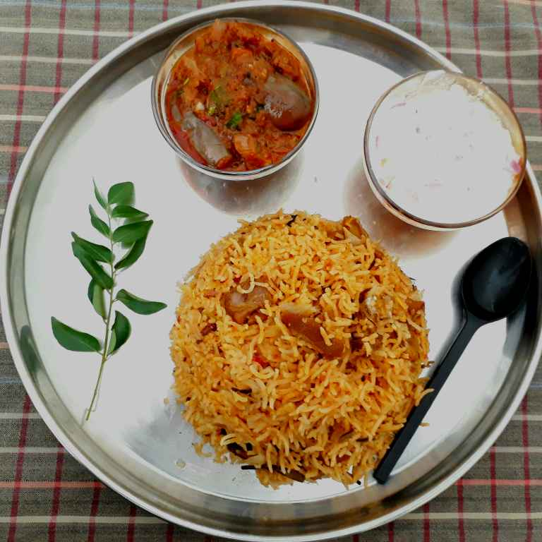 How to make Muslim style mutton biryani