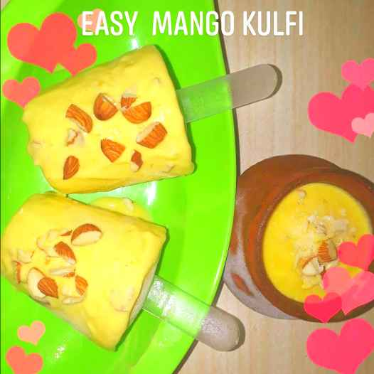 Photo of Easy Mango Kulfi by Athilakshmi Maharajan at BetterButter