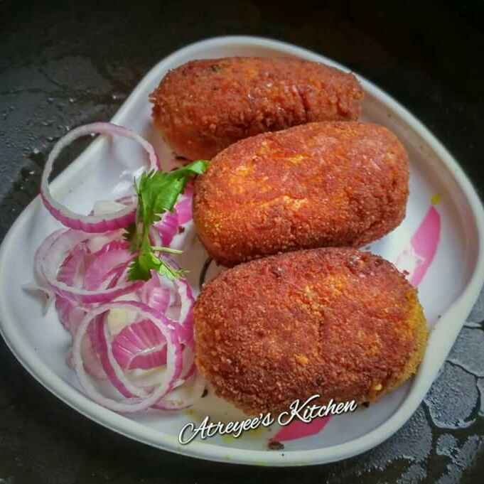 Photo of Rohu Fish Cutlet by Atreyee Deb at BetterButter