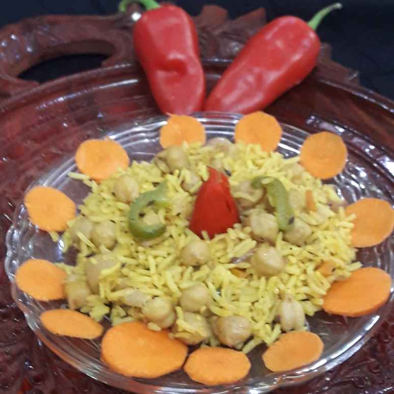 Photo of Leftover chhole pulao by Avani Desai at BetterButter