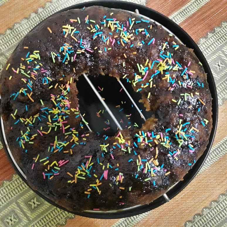 How to make ઞાજર અને કાળી દ્રાક્ષ નો કેક